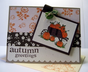 autumn greetings pumpkin wheelbarrow1